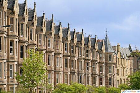 vivienda victoriana en Escocia